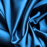 Синяя ткань для штор